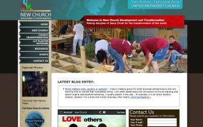 New Church Development Website