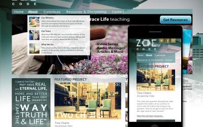 Zoe Code Ministry Website