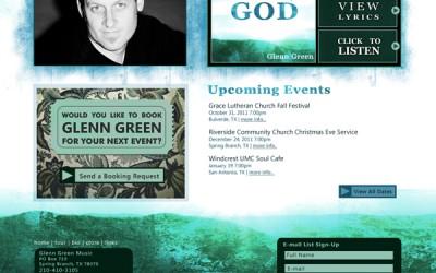 Glenn Green Music Website